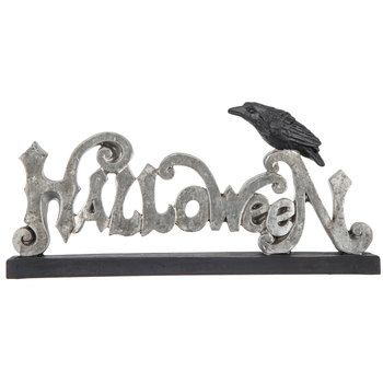 Crow Halloween Decor | Halloween decorations, Halloween ...