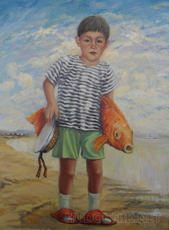 Внук рыбака Ваня