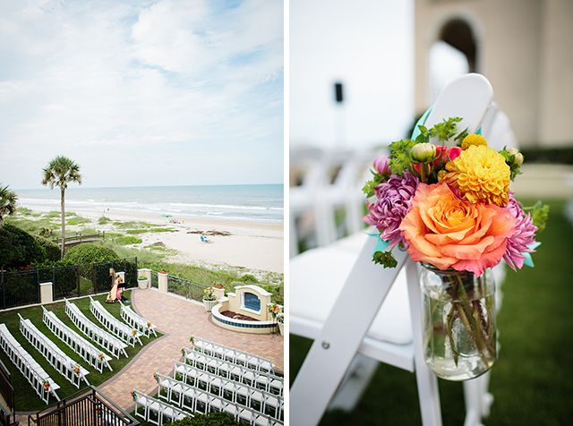 Bright Beach Wedding Lauren Will In Ponte Vedra