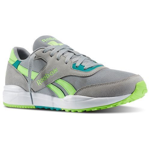 Reebok ROYAL CHASE New Mens CLASSIC Running Shoe Size 12 M46972 Grey Green