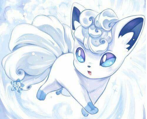 Volpix In White Dessin Pokemon Dessins Mignons Pokemon Personnage