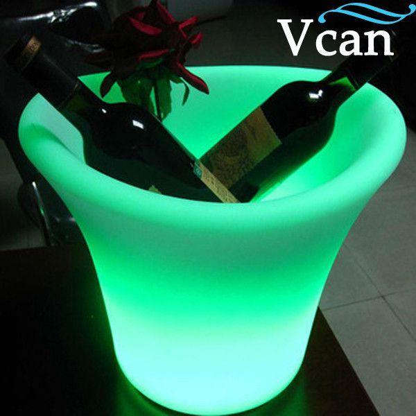Cool Popular Fashion LED Changing Lights Ice Bucket