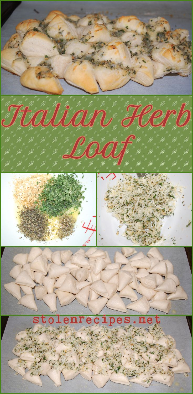 Italian Herb Loaf | Recipe | Bread maker recipes, Shapes ...