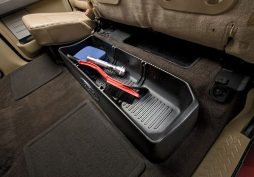Oem Ford F 150 Cargo Organizer Autotrucktoys Com Truck Accessories Ford Ford Trucks Truck Accessories