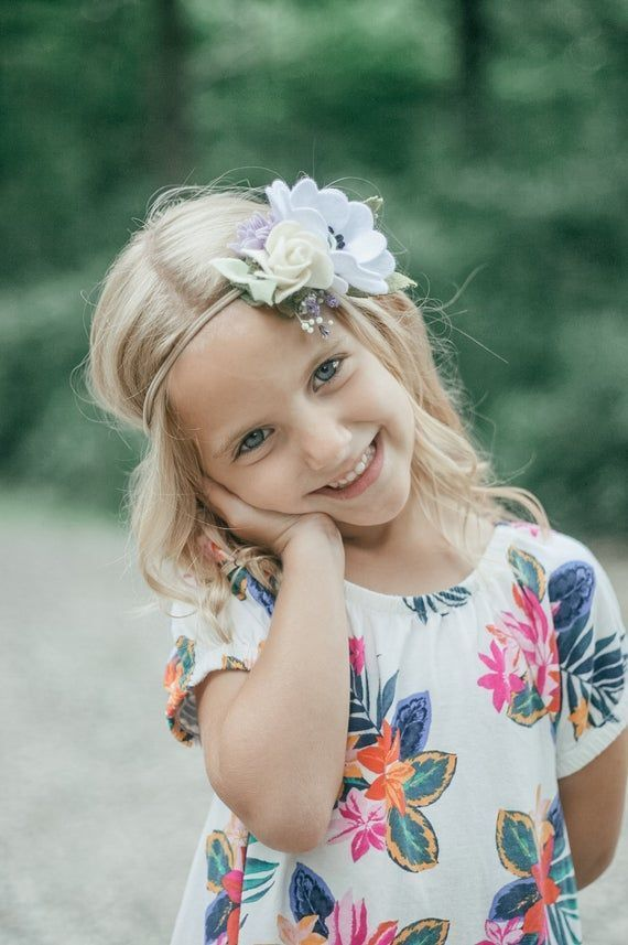 Summer Felt Flower Headband, Boho, Flower Crown, Floral Headband, Rose Headband,...,  #boho #... #feltflowerheadbands