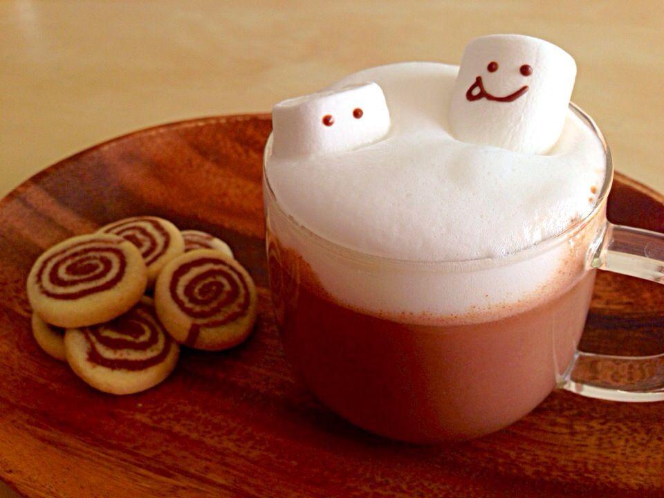料理研究家 五十嵐夫妻さんの料理 バレンタインに♡ スマイルHOTチョコレート