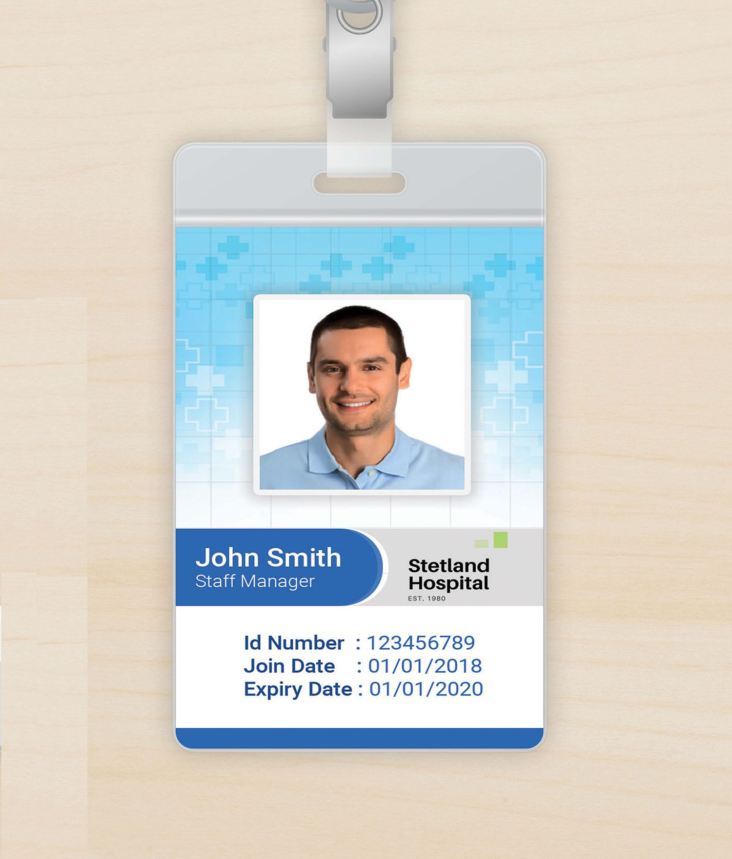 The Extraordinary Outstanding Id Badge Template Free Online Ideas Employee With Hospital Id Card T Id Card Template Employees Card Free Business Card Templates