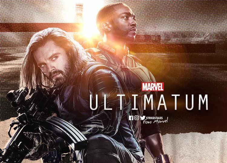 Item on twitter falcon and winter soldier series on