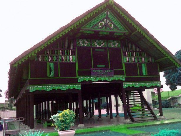 Aceh Traditional House Arsitektur Vernakular Arsitektur Indonesia
