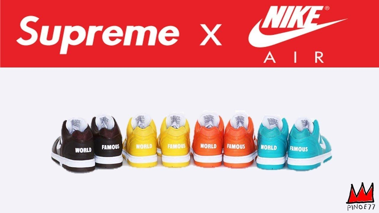 the latest d27c1 dd032 SUPREME x NIKE RELEASE, OFF WHITE x NIKE THE TEN RELEASE ...
