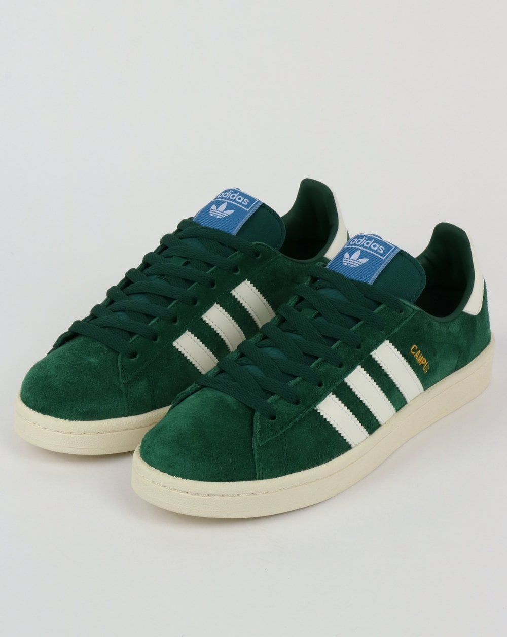 new concept 4545b c42cc Adidas Campus Trainers Green,shoes,suede,originals