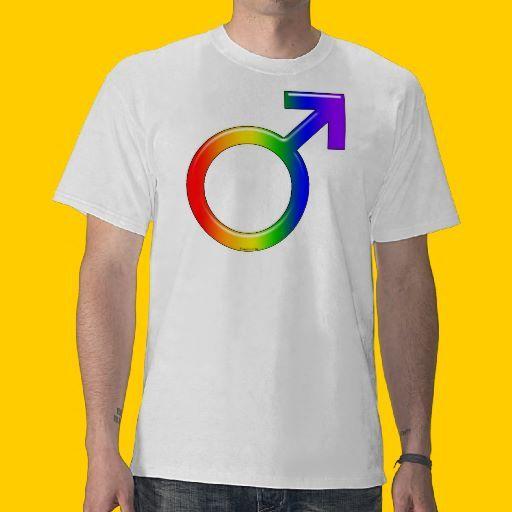 Rainbow Guy Shirts by SpeakItDesigns