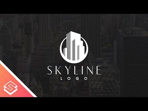 Inkscape For Beginners Skyline Logo Tutorial Skyline Logo Logo Tutorial Logo Design Tutorial