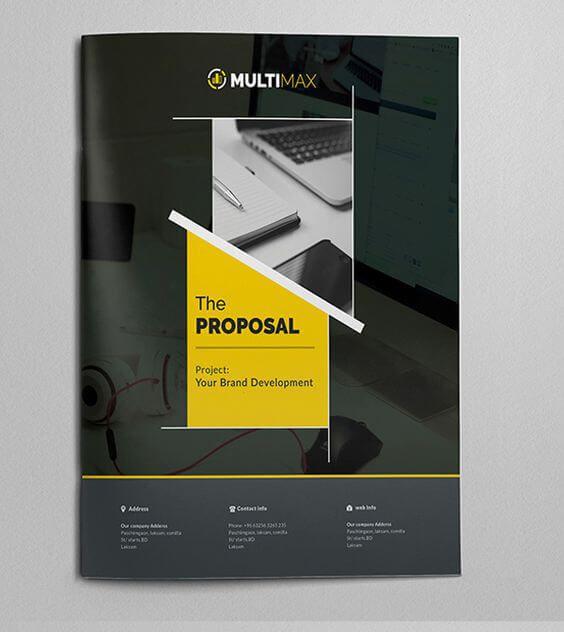 desain cover - Contoh Cover Proposal Proposal Pinterest - design proposal
