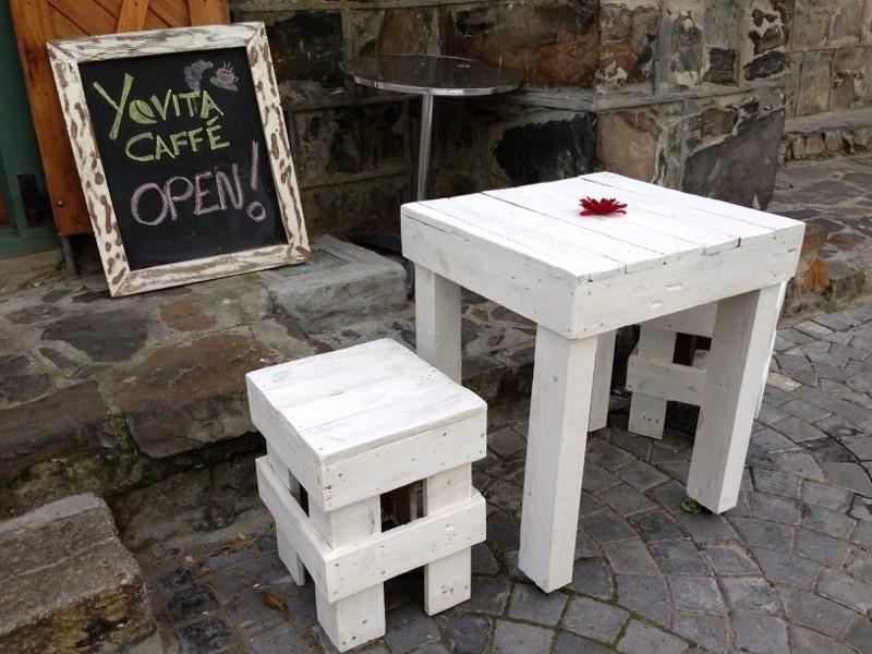 little pallet table and stool set  ballitoville  gumtree