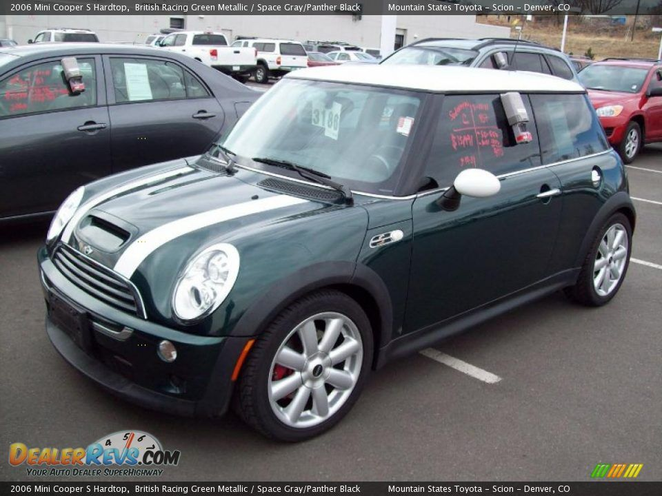 British Racing Green Metallic 2008 Mini Cooper S Mini Cooper S Mini Cooper Blue Mini Cooper