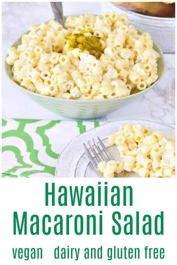 Hawaiian Macaroni Salad At Spabettie Vegan Dairyfree