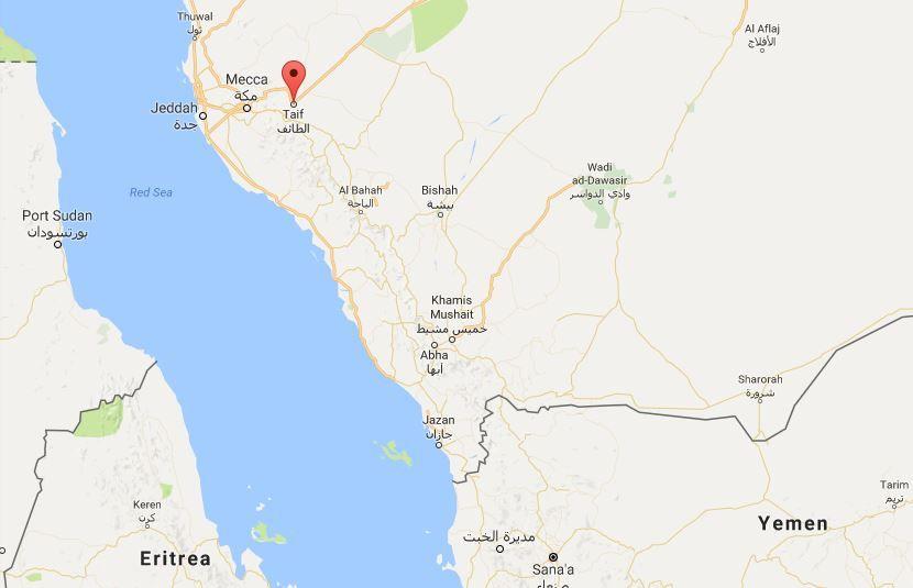 باليستي يمني يتجاوز منظومة باتريوت ويدك قاعدة سعودية في الطائف Map Map Screenshot Art