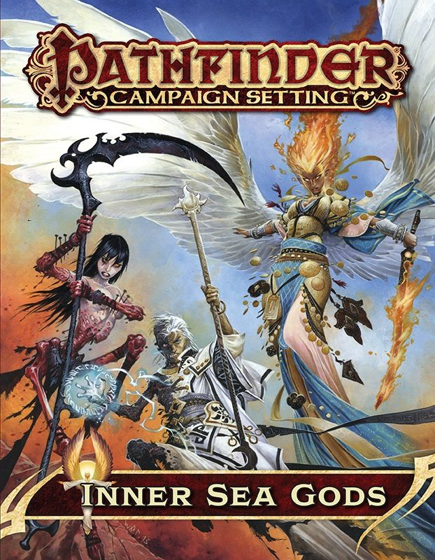 Pathfinder Campaign Setting Inner Sea Gods Pfrpg Hardcover