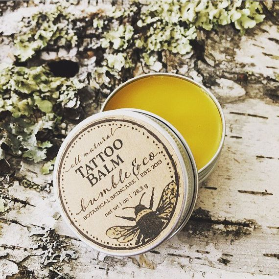 This All Natural Skin Tattoo Balm Comes In A Super Cute Reusable