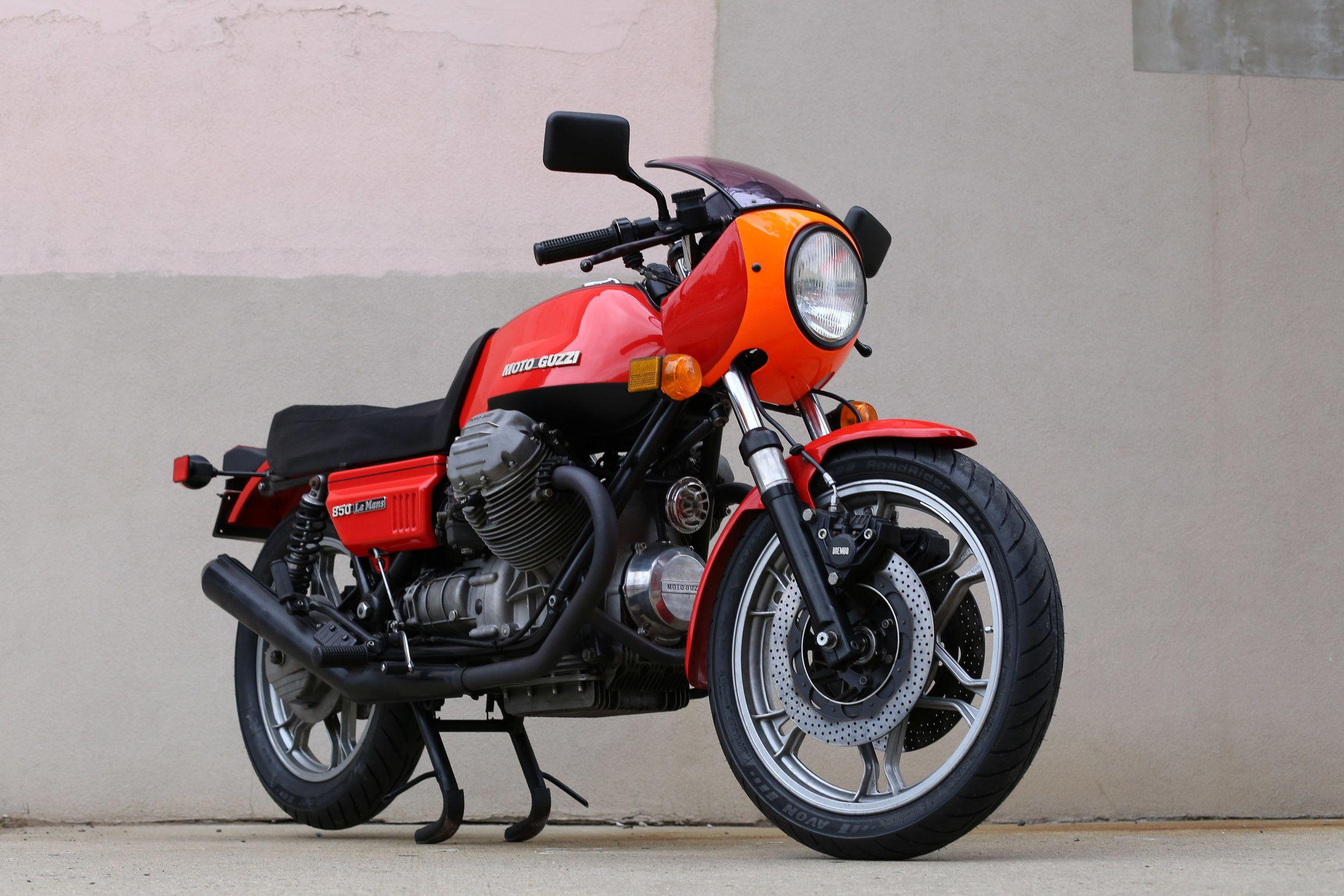 1977 Moto Guzzi Lemans 1 Moto Guzzi Moto Guzzi Cafe Racer Moto Guzzi Motorcycles