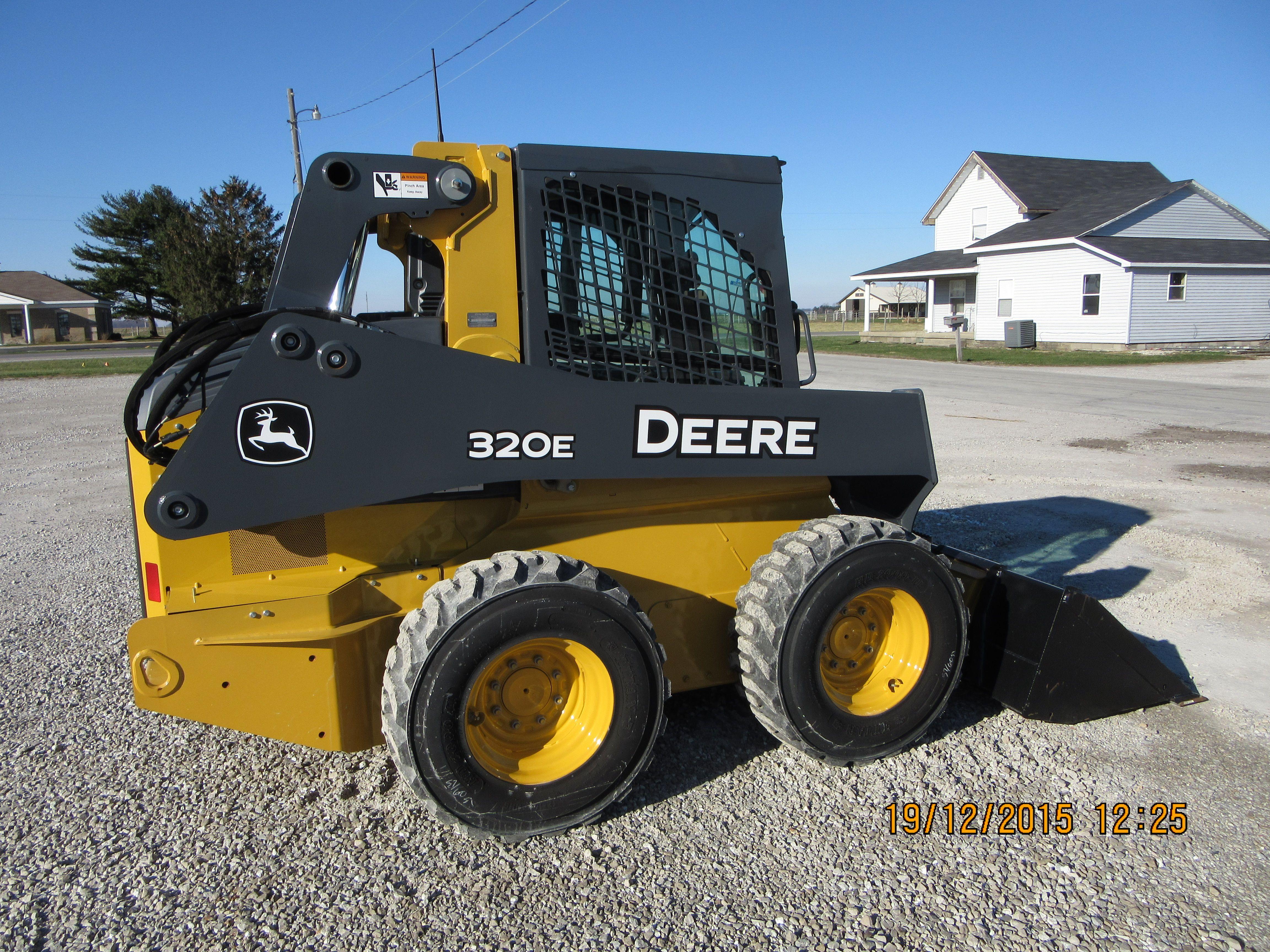 John Deere 320e Skid Steer Loader Jd Construction Equipment Door Closure Wiring Diagram 279c Cat