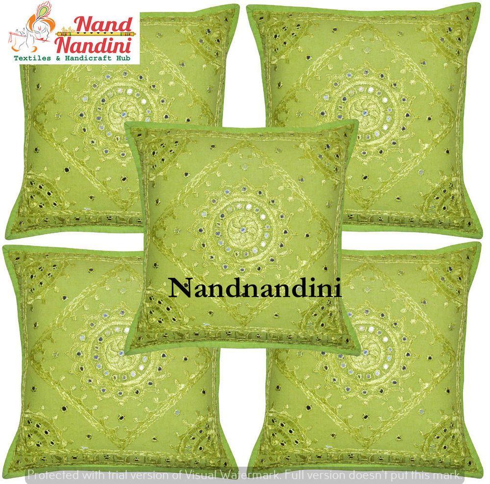 Indian handmade tribal cotton home decor pillowcase sofa cushion
