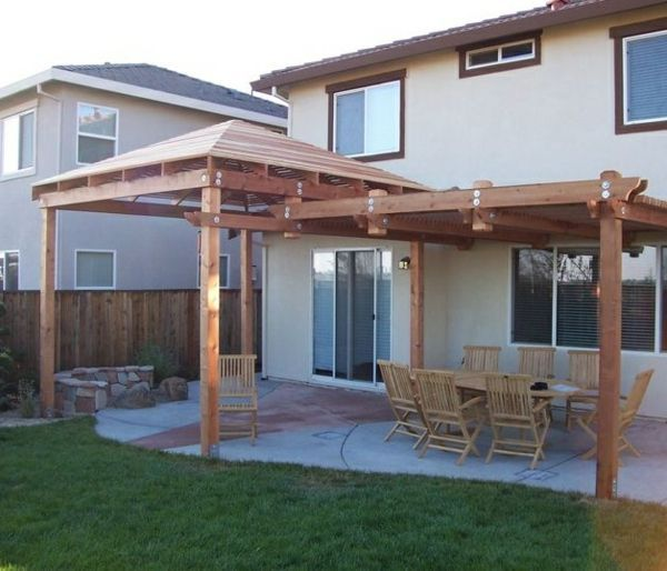 Terrace roofing wood - what should you consider ...,