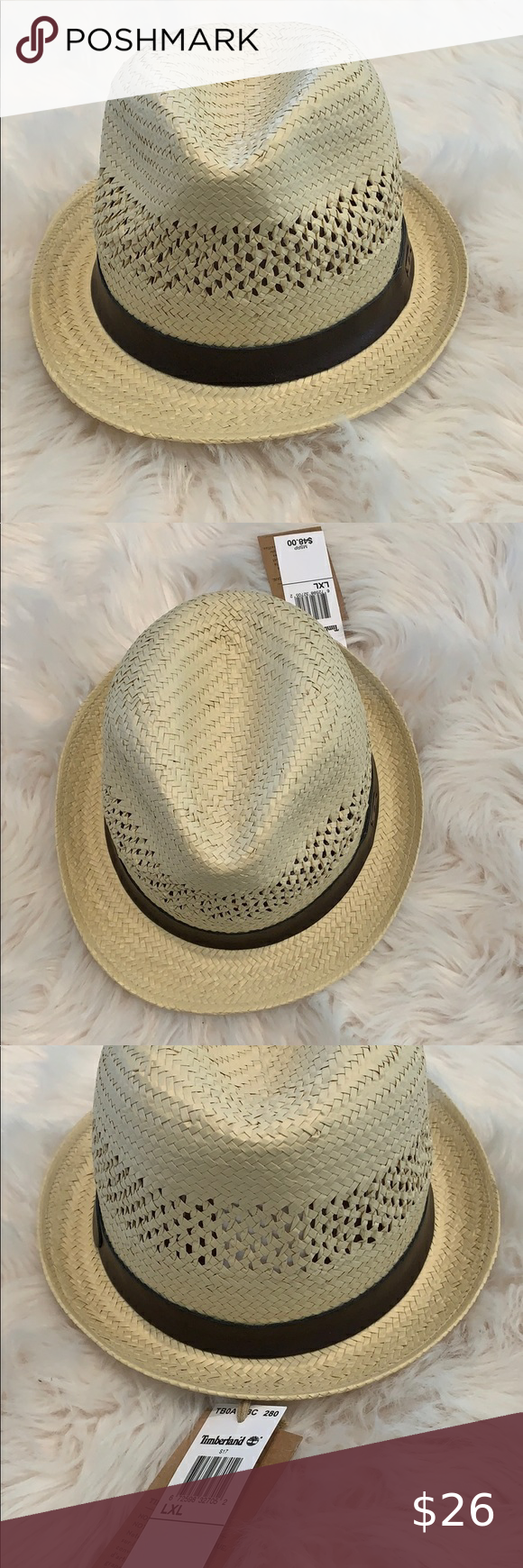 100 Straw Hat From Timberland Men S L Xl Timberland Mens Straw Hat Timberland
