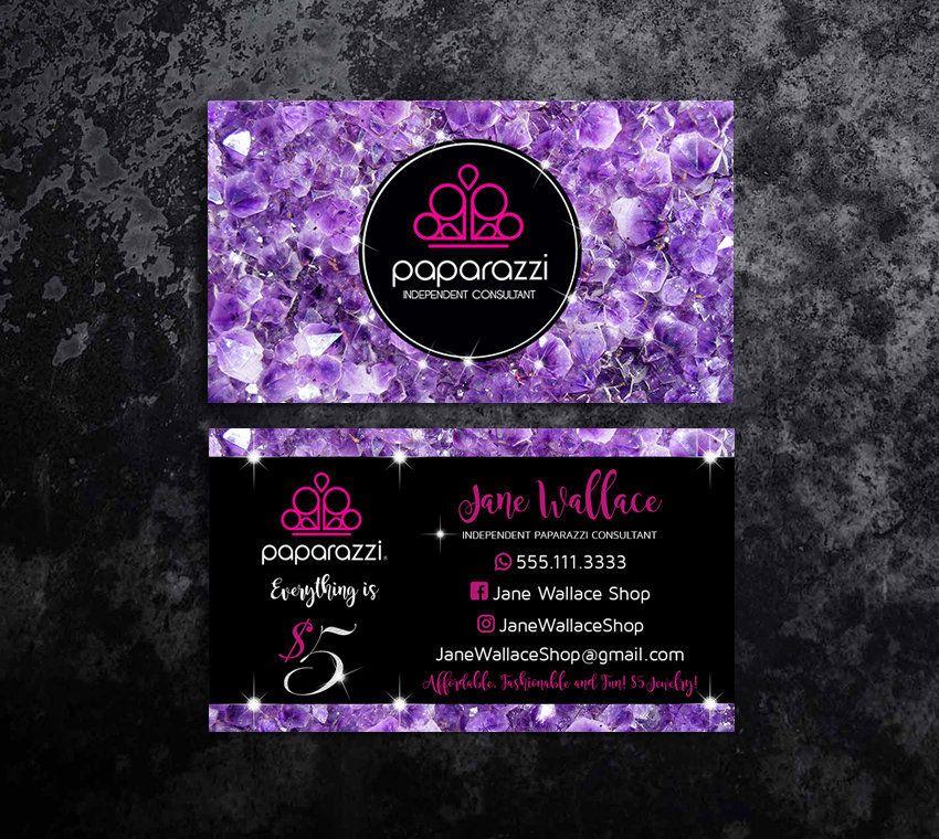 Paparazzi Business Cards Templates Paparazzi Business Cards Paparazzi Accessories Papara Jewelry Business Card Vistaprint Business Cards Business Card Template