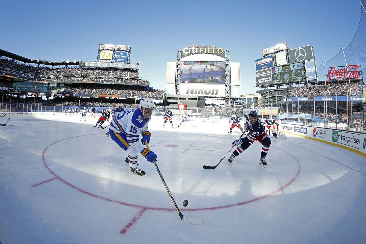 huge discount 08461 3f07c Jack Eichel Winter Classic 2018 on January 1, 2018 | Sabres ...