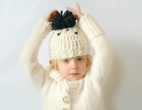 Golden Garter Knit Hat Knit Hats Heart Button And Beginner