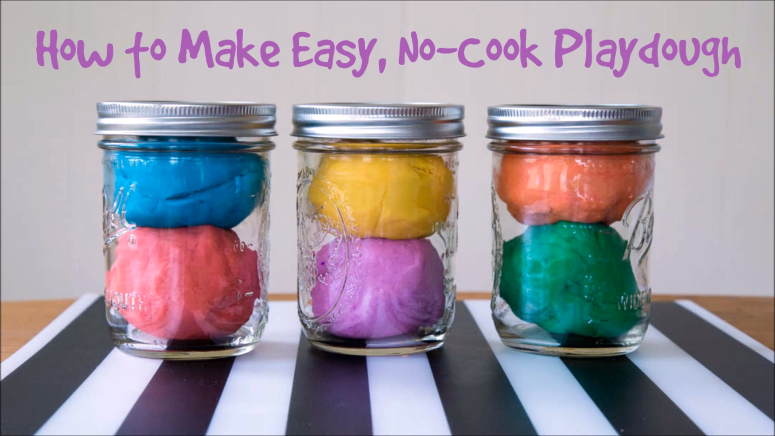 3 Awesome Homemade Playdough Recipes Playdough Ideas for
