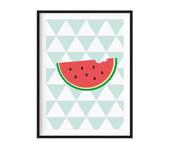 Funky Watermelon kids print