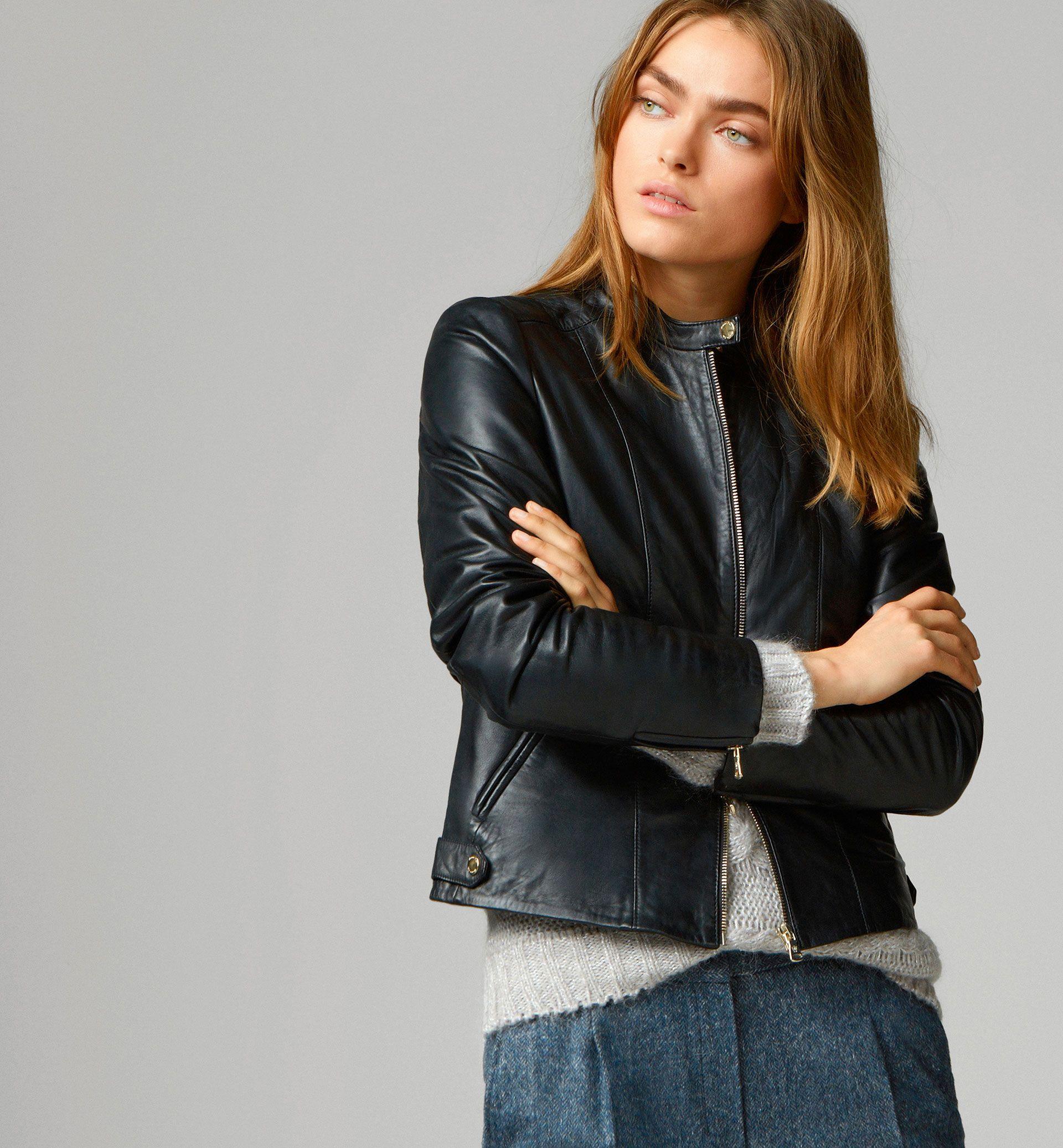cbabd6d10de Black jacket - Massimo Dutti