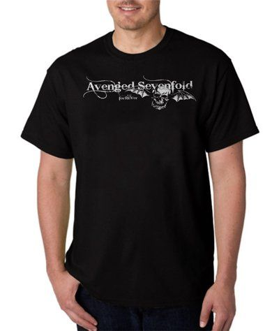 A7x+Forever+Avenged+Sevenfold+Custom+Men's+T-shirt+Tshirt+Shirt+XS-XXL+100%+Cotton