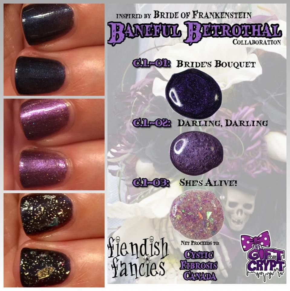 Inspired by Bride of Frankenstein, the Baneful Betrothal charity ...