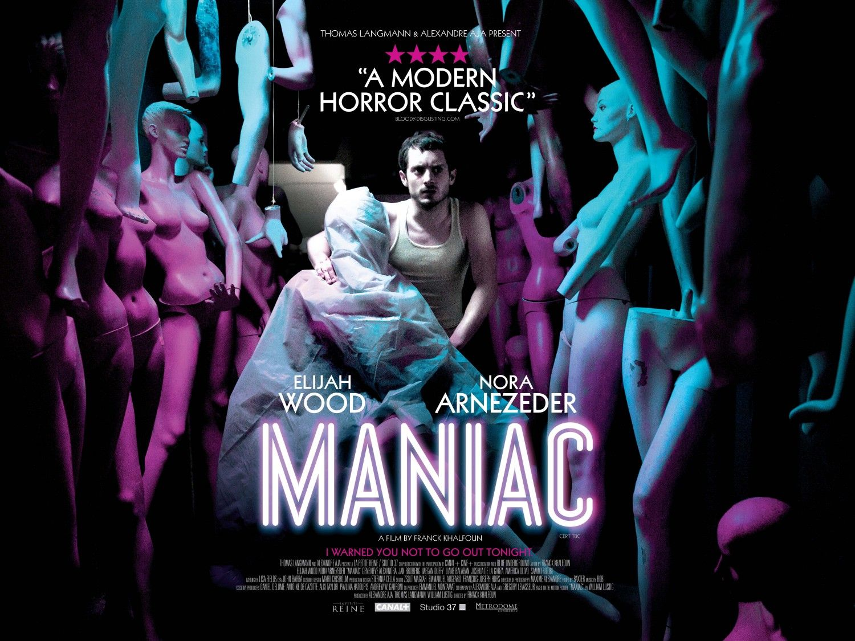 Extra Large Movie Poster Image For Maniac Migliori Film Horror Horror Movie Posters Film Di Paura