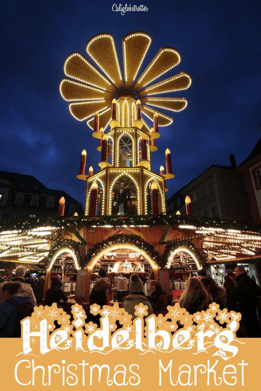 Heidelberg Weihnachtsmarkt.Heidelberg S Romantic Christmas Market Europe Travel Germany