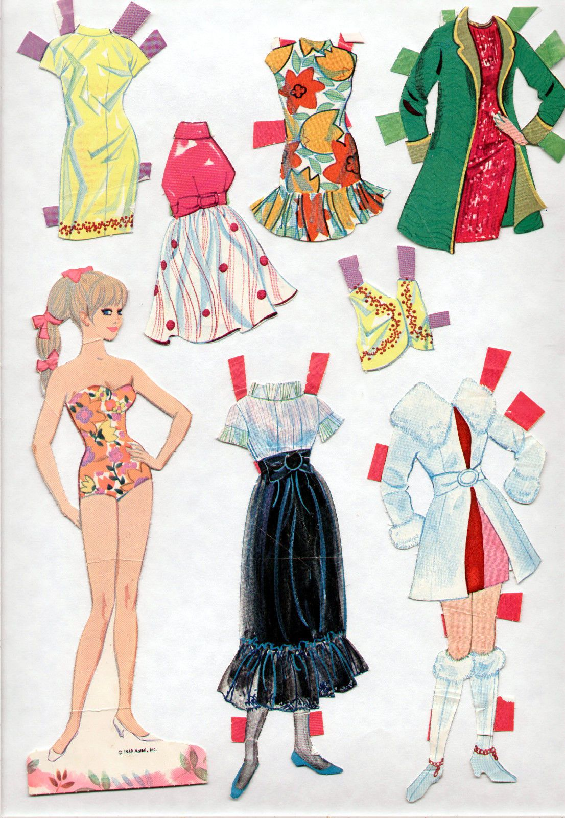 Pin On Paper Dolls N Crafts