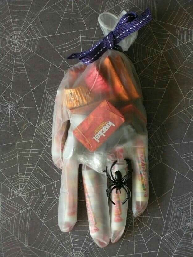halloween gift bag glove