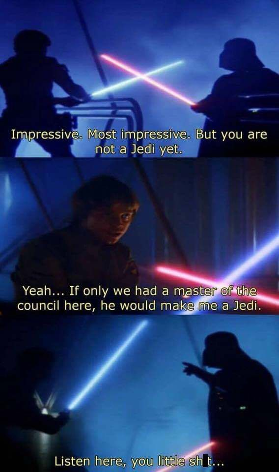 46 Star Wars Memes That Will Give Your Life A New Hope Star Wars Jokes Star Wars Memes Star Wars Quotes