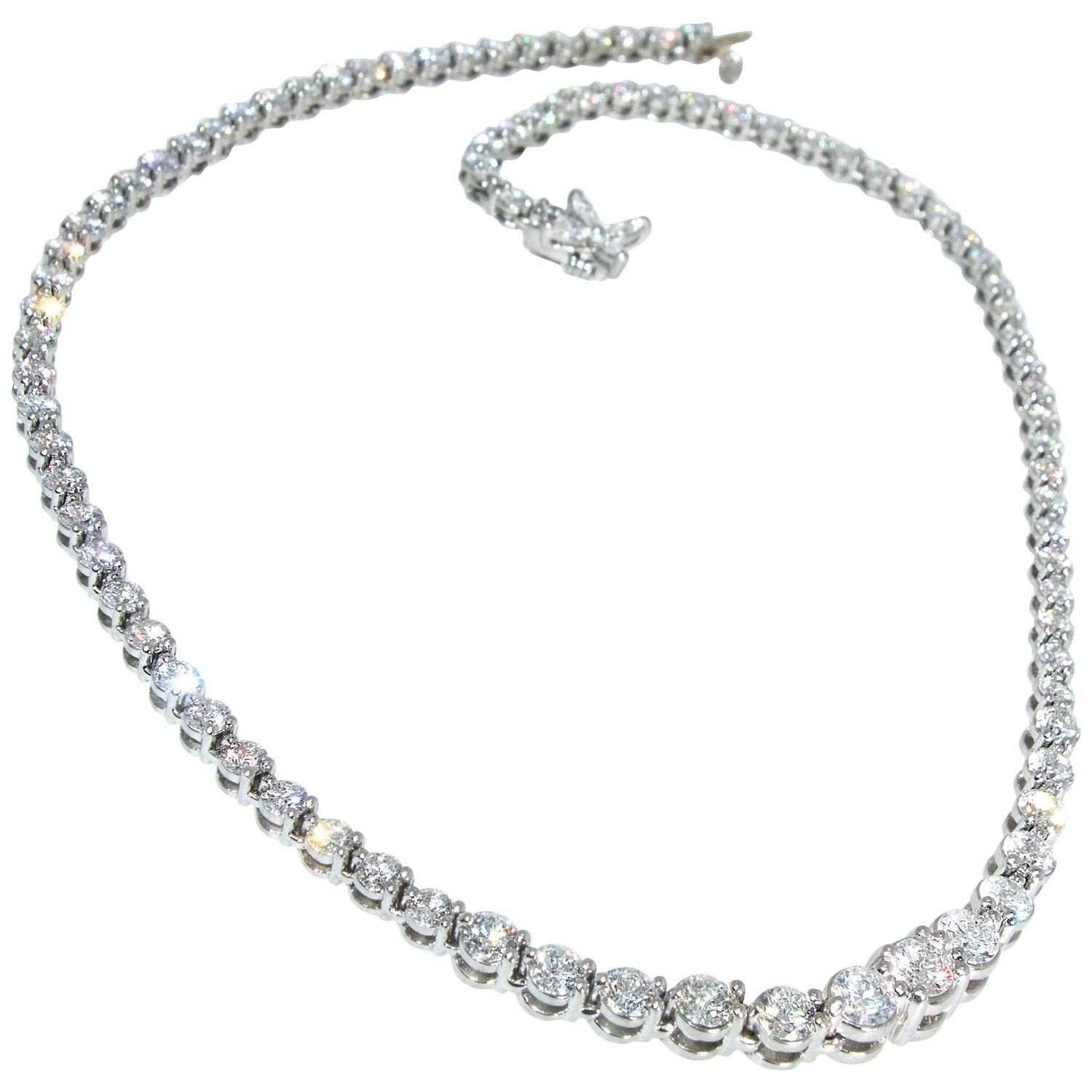 718a933d6 Tiffany and Co. Diamond Riviere Necklace | My 1stdibs Favorites ...