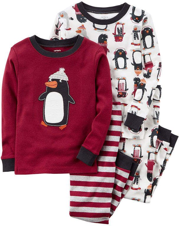 177b35baaa48 Carter s 4-pc. Pajama Set Boys