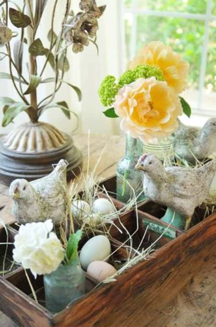 29 Ideas For Rustic Easter Decor Spring Easter Decor Rustic