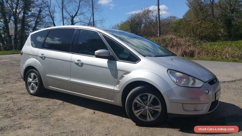 2008 08 Ford S Max 1 8tdci 125ps 6sp Zetec Ford Smax