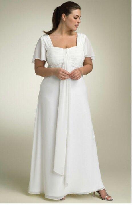 Simple Wedding Dress Big Beautiful Real Women With Curves Fashion