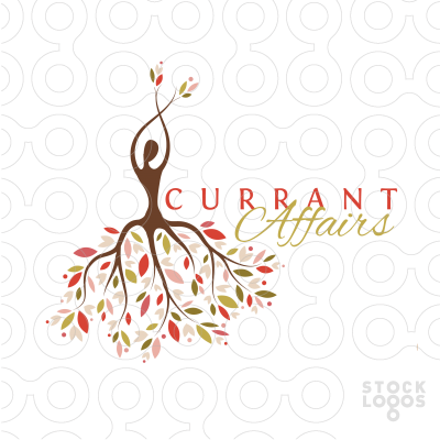 Exclusive Customizable Logo For Sale: Currant Affairs | StockLogos.com