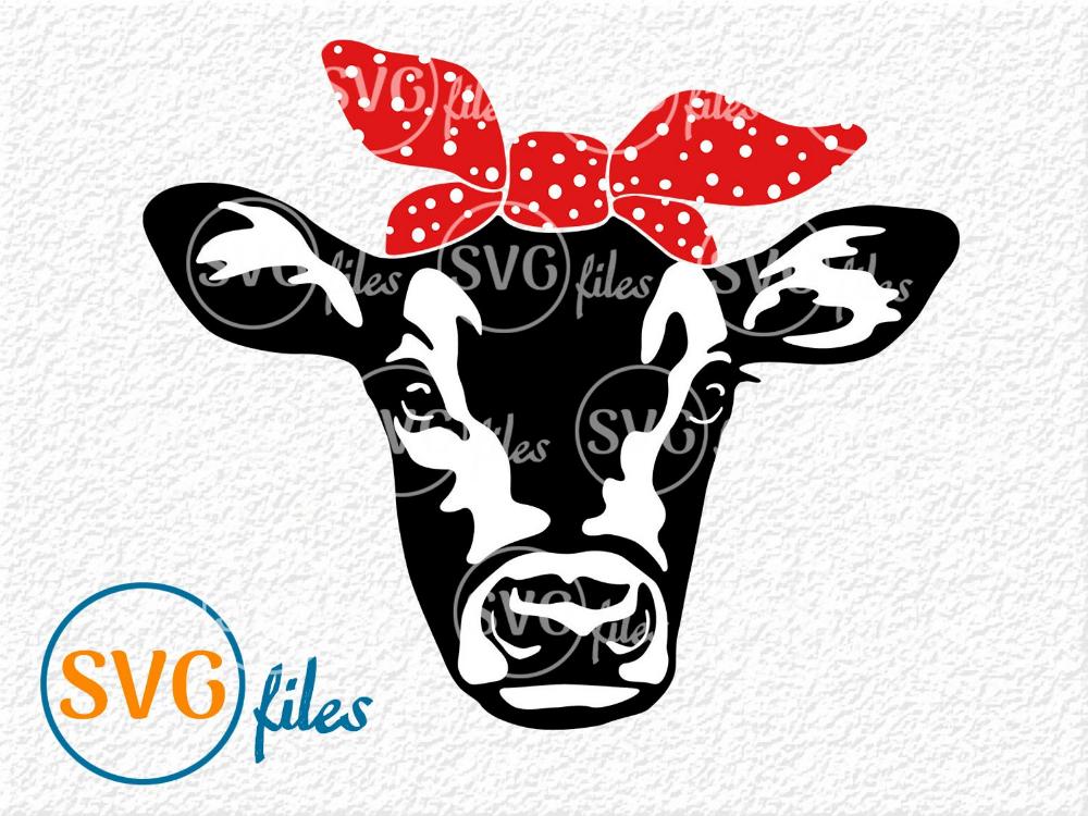 Cow Bandana Svg Cow Face Svg Cow Head Svg Farm Svg Etsy Cow Face Cow Png Cow Head