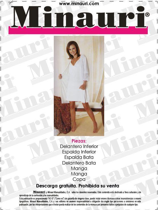 DIY - #Pijama para Dama !! (#Molde o Patron) Descarga gratis en: www ...